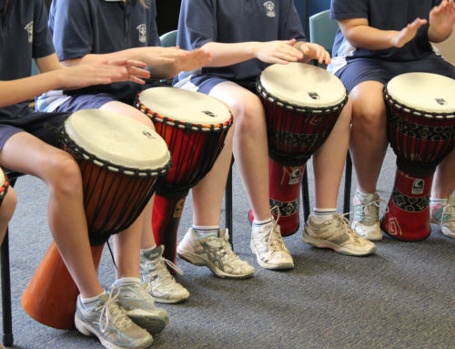 Mental health for adolescent boys – a drumbeat away