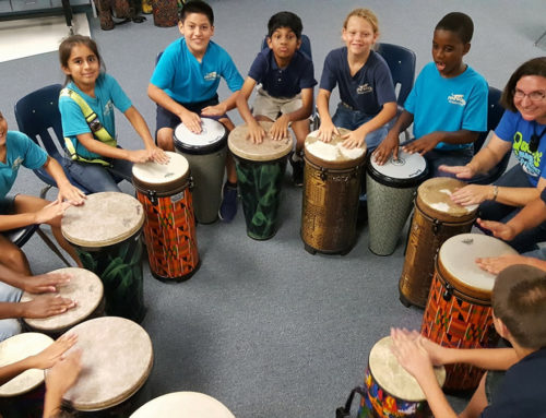 Australian program drumming rave reviews USA