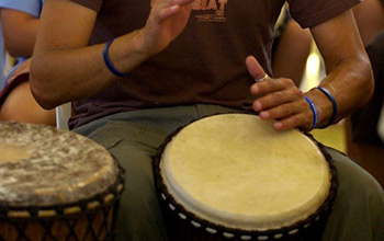 Building Resilience Through Rhythm | Holyoake - DRUMBEAT