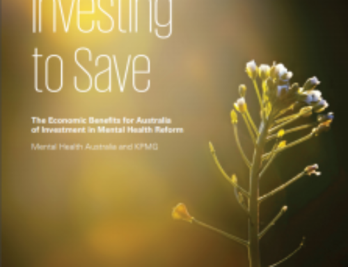 Investing to Save – A report on Mental Health Reform