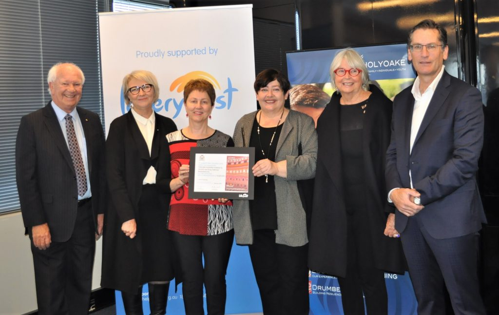 Holyoake receives Lotterywest grant to refurbish office | Life Changing