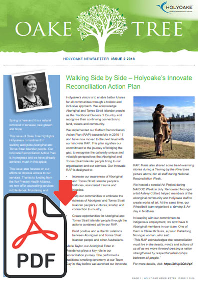 Newsletters | Holyoake | Holyoake Programs | Trainings