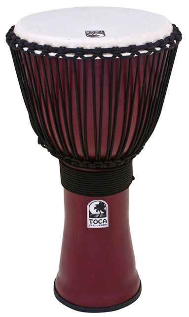 Toca Freestyle Series 2 Djembe 12 Inch in Red