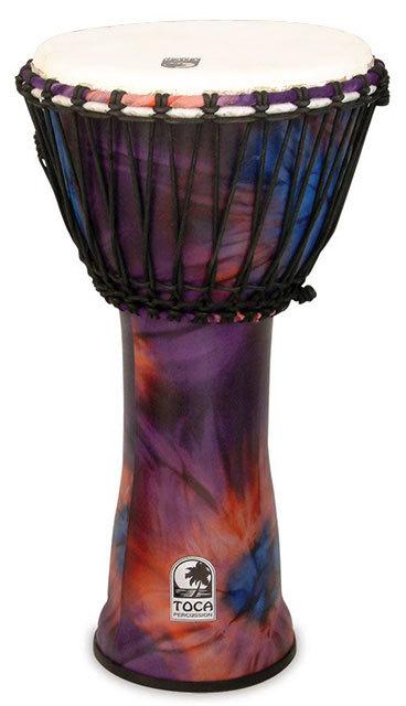 Toca Freestyle Series 2 Djembe 12 Inch in Woodstock Purple