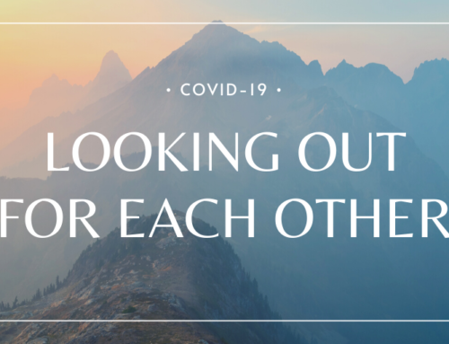 Covid-19: Looking out for each other